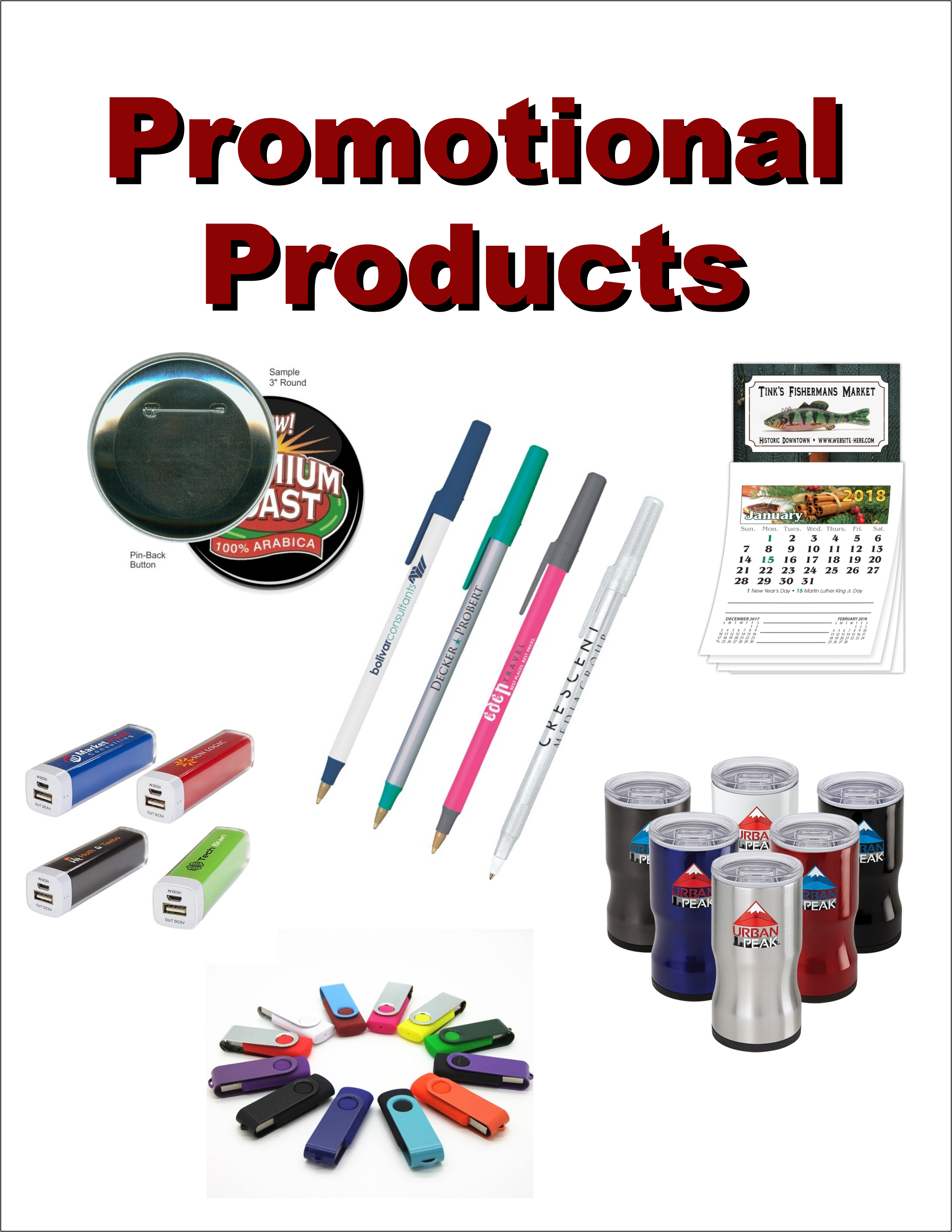 Promotional Products - Bee Embroidered